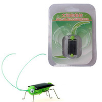 solar powered toys - New Cute Solar Power Robot Insect Bug Locust Grasshopper Toy Solar Power Mini Toy Car Moving Racer