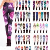 america milk - Popular Europe and America Design Women Space Print Pants Galaxy Leggings Black Milk Leggins Women Adventure Time Leggings pants