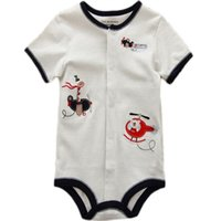 organic baby rompers - Organic baby clothes short sleeve baby organic cotton toddlers rompers
