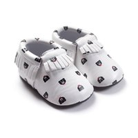 baby bear shoes - Newborn Babies Shoes Fashion Tassels Soft Bottom Toddlers Moccasins Baby Walker Shoes PU Leather Little Bear Infants Shoes