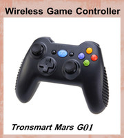 Wholesale Tronsmart Mars G01 G Wireless Gamepad Support Controller Android Cell Phone PS3 Tablet PC MINI PC Android tv box playstationOTH094