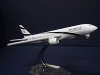airlines israel - 16cm Metal airlines plane model Boeing B777 Israel airplane model for children toys
