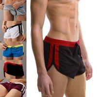 Cheap Free Shipping Sexy Men's Swimming Trunks Best Quality Mens Swimwear Trunks Low Waist Swimwear Boxer Shorts Swimsuit
