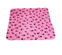 Wholesale 1 Pet Dog Cat Blanket Mat Bed with Paw Prints AE10684