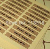 Wholesale Min Order is CM DIY Scrapbooking Kraft Paper Hand Made Labels Envelopes Stickers handmade Seals Sticker