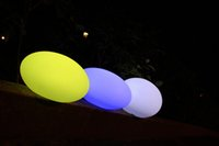 battery operated mood lighting - new design RGB colors changing battery operated led egg mood light outdoor night light piece