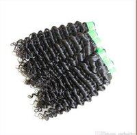 Cheap 100%Malaysian Hair Human Hair Weave Best Straight 12-28 Hair Weave Deep Wave
