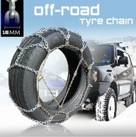 Wholesale 4WD Slip resistant Chain Snow Chain mm Overstretches Tyre Chain Titanium Alloy Off road Vehicle SUV ATV Snow Shovel For Free