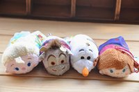 best movies japan - Japan Tsum Tsum Plush Toys Kawaii Froze Elsa Anna Olaf Sven Dolls Cute Soft Toys Smartphone Cleaner plush toy Best Gifts
