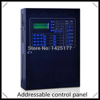 Cheap addressable fire alarm control panel for fire alarm security system with 100 points A2