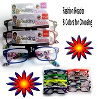 Wholesale Cheap reading glasses eyewear fashion reading glasses colors spring hinge