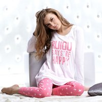 cotton nightgown - Y06 summer New fashion cotton home clothes wear pants sets sleepwear cotton sleepwear for womens pajama sets