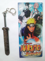 Wholesale Cosplay Naruto Shippuden Weapon Metal KeyChain A