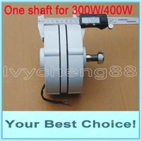 Wholesale 400w AC24V V WIND TURBINE GENERATOR PERMANENT MAGNET ALTERNATOR DHL