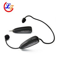 amplifer professional - Professional G Headset Wireless Microphone Stereo Microfone for Amplifer Computer PC Speaker Sound Automatic
