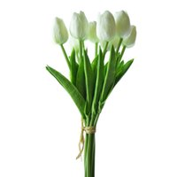 Wholesale PU Tulip Artificial Flowers Simulation Wedding or Home Decorative Flowers Party Decoration Flower