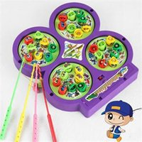 Wholesale New Outdoor Toys for Children Educational Kids Fishing Toys Multi Color Electric Fishing Toys