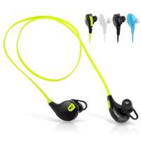 al por mayor mini auricular inalámbrico-QY7 mini auriculares estéreos sin hilos del receptor de cabeza de los auriculares de Bluetooth 4.0 del USB para el iPhone Sumsung Envío libre