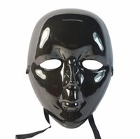 beauty outlet direct - Factory direct sale masks Halloween party supplies party party mask full face mask outlet little beauty mask black mask whol