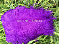 Wholesale high quality Purple ostrich feather cm24 quot ostrich feathers big wedding DIY