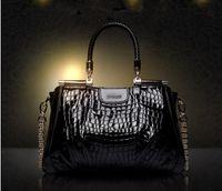 Wholesale New fashion Crocodile genuine leather bag handbags shoulder chain bags totes cymka bolsas