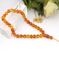 amber islamic - Hot Selling Islamic Amber Prayer Beads Jewelry Bracelet Necklace mm Beads