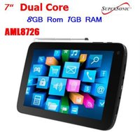 Wholesale HOT SuperSonic SC TV Android quot Touchscreen Tablet w TV amp Dual Core Processor