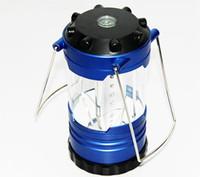 12 LED Linterna Campamento ligero de la tienda Senderismo colgante portable Pesca lámpara Linternas portátiles al aire libre de iluminación