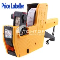 Wholesale Yellow Characters Universal Price Tag Pricing Labeller Gun for supermarket Freeshipping dropshipping