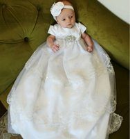baby patterns sewing - And in length white lace pattern hand sewn belts baby girls dress summer style vestidos