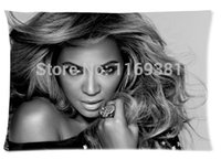 beyonce beauty - The beauty of the Custom Printed Design With Beyonce Rectangle Pillow Case x30