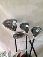Wholesale 12PCS New R15 Golf driver R15 fairway woods Rsi Irons PAS Golf clubs Rsi1 Complete Set
