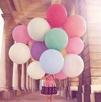 Wholesale Colors Inch Big Balloon Helium Inflable Latex Balloons Birthday Party Decoration Balloon