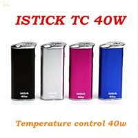 battery charging temperature - ISTICK TC w temperature control cigarette battery USB charging OLEO show mah multi function safety box mod vv vw mod electron