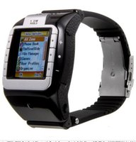 tri-band wrist watch cell phone - NOVA N800 Tri Band Bluetooth Touch Screen Watch Cell Phone with GB TF Card