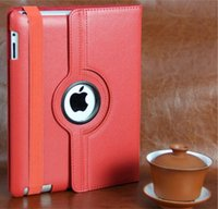 Wholesale For Ipad6 ipad Ipad Air Degree Rotating Magnetic Stand PU Leather Case Cover