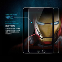 Wholesale 0 mm H Tempered Glass Screen Protector Anti Explosion Guard for ipad air mini