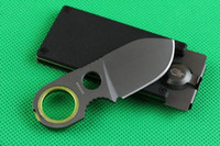 Wholesale New brand Mini Utility GDC Money Clip Fixed Blade Knife quot Hunting Camping rescue survival knife multifunctional knife