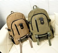 backpack offers - New special offer canvas high Capacity men s bags Outdoor leisure canvas backpack Sport bags