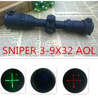air rifle - Hunting Scopes SNIPER X32AOL Mil Dot Air Rifle Gun Sniper Deer night vision Hunting Scope Telescopic Sight Riflescope mm rail mount