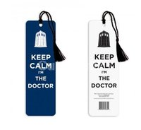 Wholesale Doctor Dr Who Bookmark quot Keep Calm I m the Doctor quot Same Day Shipping