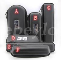 achat en gros de cas zipper pour la cigarette-Nouveau Ego Zipper Case Metal Etui Electronique Cigarette Zipper Metal E Cig Cases Pour Ego Evod CE4 CE5 MT3 Protank Ego Starter Kit De Qualité Supérieure