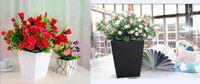 wooden planter - Hot sales Flower Pots Planters Trapezoid Wood Decorative Vase Wedding Home Decoration