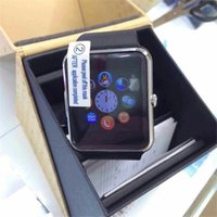Wholesale SIM Card Smart Watch GT08 inch Bluetooth Smart Wrist Watch GT08 SIM Phone Watches for Samsung Android Phone
