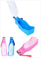 Wholesale Amazing New Folding Pet Water Dispenser Dog Cat Water Bottle Drinking Feeding For Pet Travel Outdoor