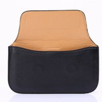 Wholesale Leather Cellphone Holsters Iphone - Soft Slim Universal Horizontal PU Leather Holster cellphone Case with Belt Clip for iphone 6S plus and more cellphone with Magnet