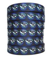 sports ribbon - OEM inch mm baseball team sport Printed Grosgrain ribbon bows Webbing Accessory Cintas Yds roll CA150513008