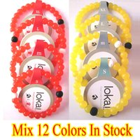 Wholesale 2015 Hot Selling New Red Lokai Silicone Bracelet Jewelry With Original Tag Mix Colors In Stock Perfect Christmas Gift