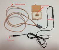 Wholesale Skin color spy earpiece invisible ear phone spy ear bug Inductive Loopset
