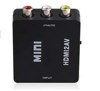 av stereo - New Arrival P P Mini HDMI to RCA Composite Video Audio AV CVBS Adapter Converter